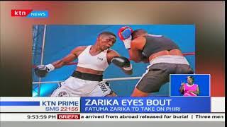 Sparks boxer Fatuma Zarika takes on Zambian Catherine Phiri