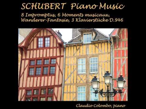 Schubert: Moment Musical No. 3 in F minor