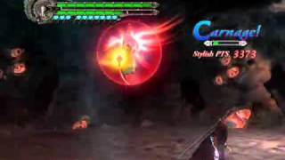 Devil May Cry 4 - Boss Battle 14 (Final) Sanctus Diabolica + False Savior - Nero