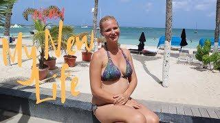 My new Life in Aruba by Sam - Walk with the KIDS in Wilhelmina Park Aruba