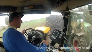 JCB 8250 In Cab Mixing It With Fendt's