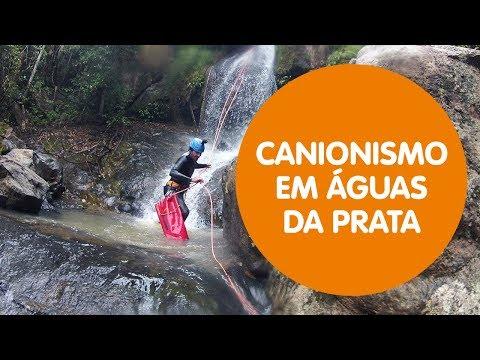 CANIONISMO – Explorando as cachoeiras do CANYON MATRIX em Águas da Prata
