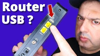 5 cool things you can do with your router's USB port!
