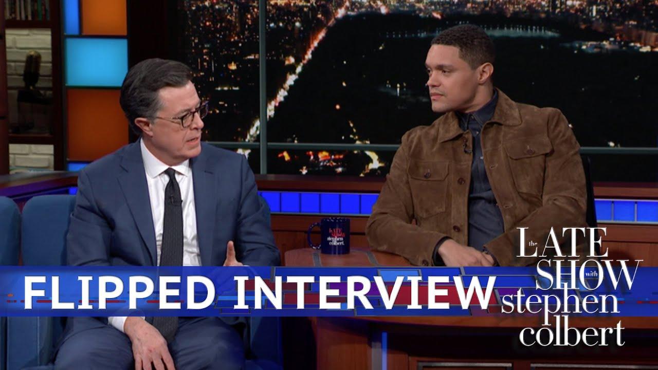 Trevor Noah Interviews Stephen Colbert thumbnail