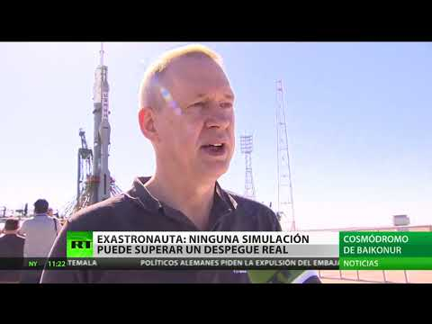 La nave Soyuz lleva una nueva expedición a la Estación Espacial Internacional