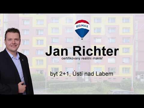 Video Prodej bytu 2+1 v osobním vlastnictví 66 m², Ústí nad Labem
