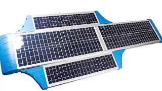 Solar Powered Street Light - 5000 Lumens LED