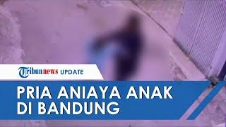 Viral Video Detik-detik Pria Turun Mobil Lalu Aniaya Anak di Bandung, Polisi Buru Pelaku