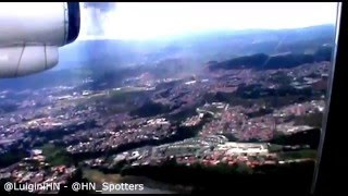 preview picture of video 'Aterrizaje|Avianca AV727|Tegucigalpa, Aeropuerto Toncontin|ATR42'
