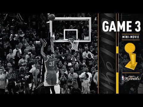 Mini-Movie: NBA Finals 2017 Game 3 | Warriors Win Thriller In Cleveland