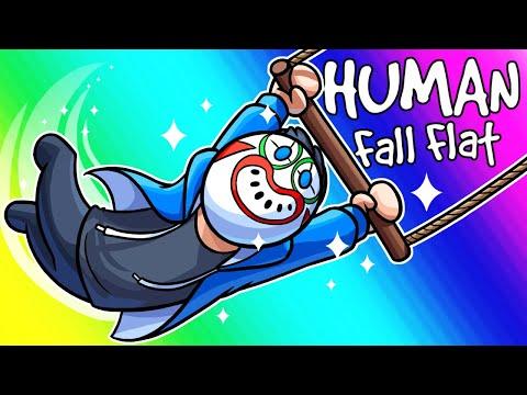 Human Fall Flat Funny Moments - The Incredible Climbing Circus!