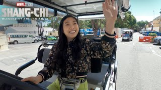 Awkwafina's Golf Cart Tour | Marvel Studios' Shang-Chi and The Legend of The Ten Rings
