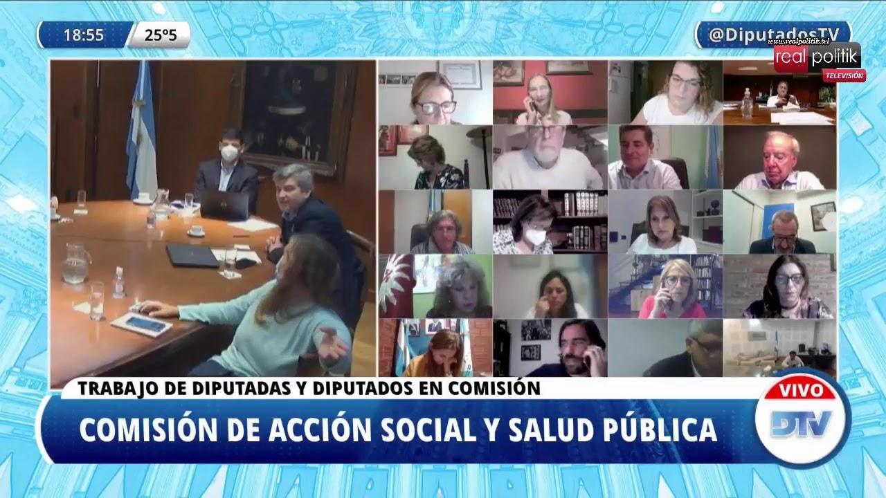 Carla Vizzotti expone en Diputados sobre la situación sanitaria del país