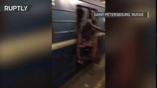 COPPER - Saint-Pétersbourg : les secondes qui ont suivi l'explosion qui s'est produite dans la rame du métro
