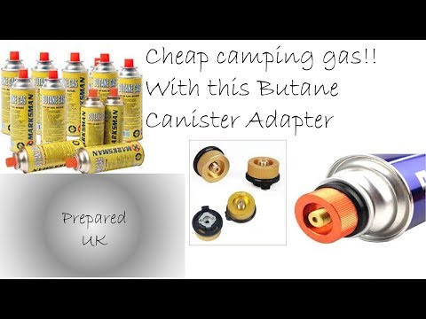 Camping Gas Canister Adapter