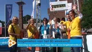 Nagenieten van het 80 weekend op Langstraat TV
