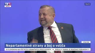 Slovensko je v katastrofálnom stave. Strana VLASŤ to zmení - zostrih TA3 12.1.2020