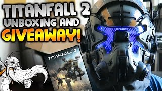 Titanfall 2 Vanguard Edition Unboxing & FREE GAME GIVEAWAY!!!