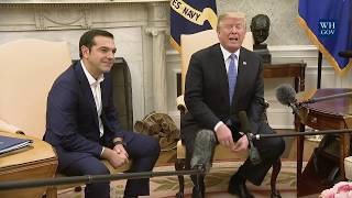 President Trump Meets with Prime Minister Tsipras