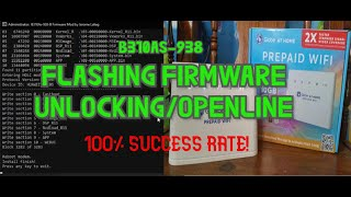 How to Flash firmware/Unlocking Huawie B310AS-938 Modem (2020 FULL STEP BY STEP TUTORIAL)