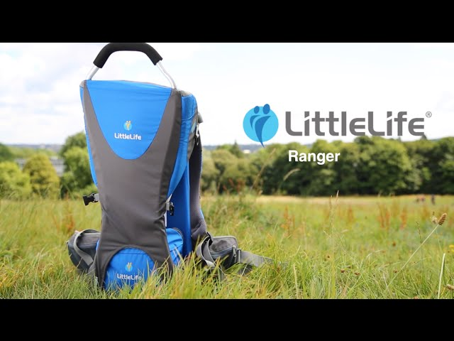 Видео Рюкзак Little Life Ranger Premium для переноски ребенка grey