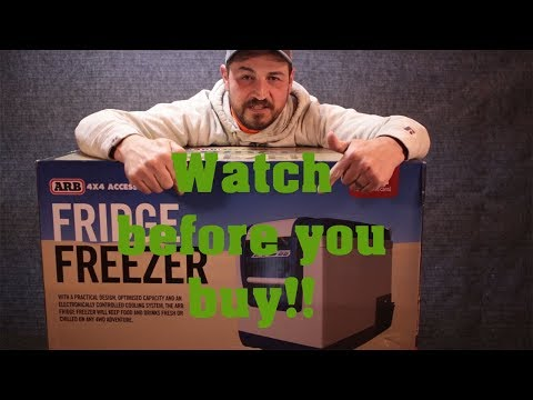 ARB Fridge/Freezer unboxing and why you shouldn't buy one !!