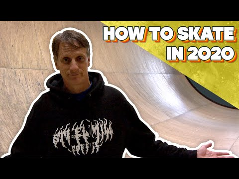 Tony Hawk: How To Skate In 2020