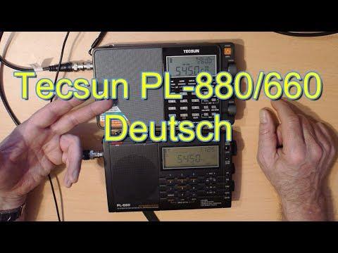 Tecsun PL-880 vs oder PL-660 Weltempfänger Kurzwelle SSB USB LSB deutsch