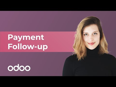 Payment Follow up | odoo Accounting