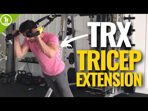Exercise thumbnail image for TRX Tricep Extension
