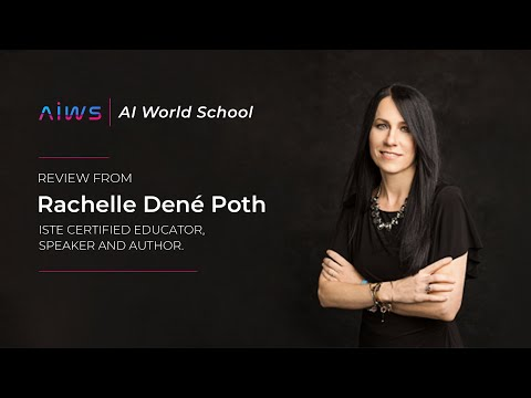 AIWS course review by US based ISTE certified educator Rachelle Dené Poth.