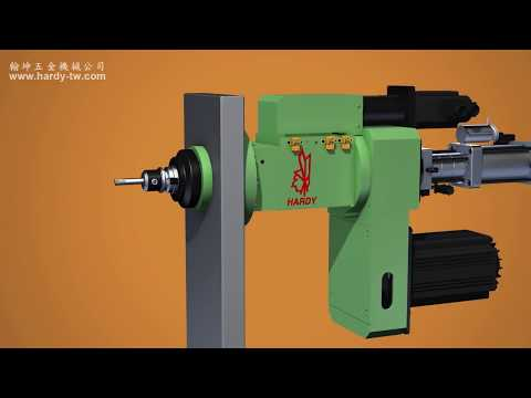 Drilling/Tapping Spindle Head-Servo/Flange Type/with Unclamping Cylinder