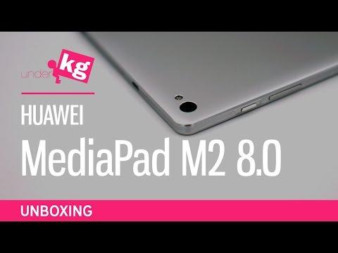 Huawei MediaPad M2 8.0 Unboxing [4K]