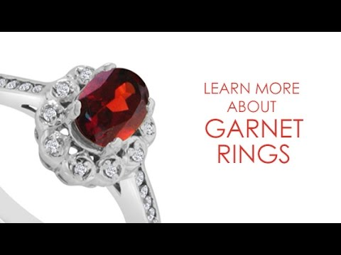 Garnet Rings by SuperJeweler - SuperJeweler.com