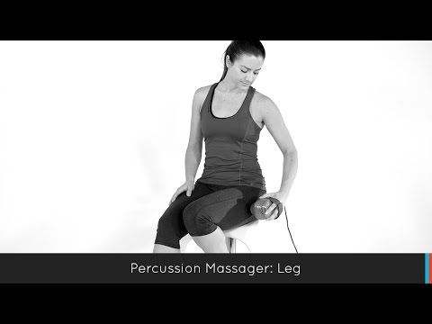 Mercury Percussion Massager with Heat: Leg