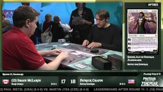 Pro Tour Battle for Zendikar Round 12 (Standard): Shaun McLaren vs. Patrick Chapin