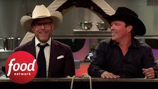 Alton's Cutthroat After-Show: Cowboy Cooking | Food Network