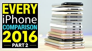 Every iPhone Speed Test Comparison 2016 PART 2!