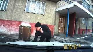Позор города Семей - автоворюга с Цемпоселка