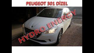 Peugeot 301 dizel hidrojen yakıt sistem montajı