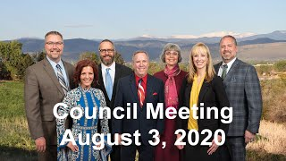 Preview image of Arvada City Council Meeting - August 3, 2020