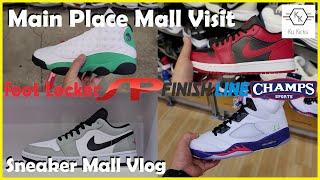 Finding Jordans @ The Mall... Sneaker Mall Vlog