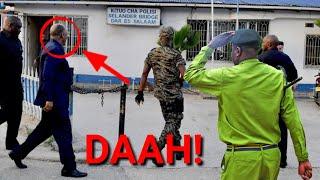 GHAFLA RAIS MAGUFULI AIBUKA KITUO CHA POLISI BILA TAARIFA, ASKARI ZAMU WASHTUKA MNO!