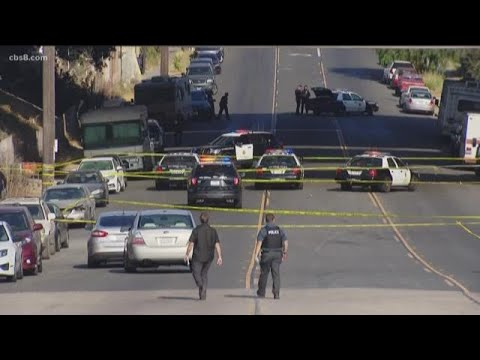 Suspect wounded in Logan Heights police shooting
