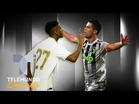 Rodrygo dijo esto de Cristiano Ronaldo ¡y solo tiene 18 años! | Telemundo Deportes