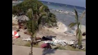 Boxing Day Tsunami in Thailand     unedited full footage shot at Racha Resort