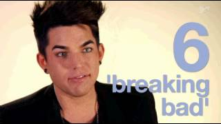 Ten things Adam Lambert's obsessed with