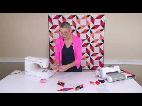 Sizzix Quilting: Diamond Point with Victoria Findlay Wolfe