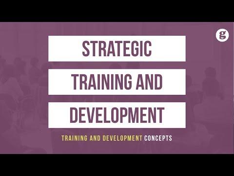 Strategic Training and Development - YouTube