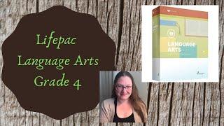 Lifepac Language Arts 4th Grade Flip Through